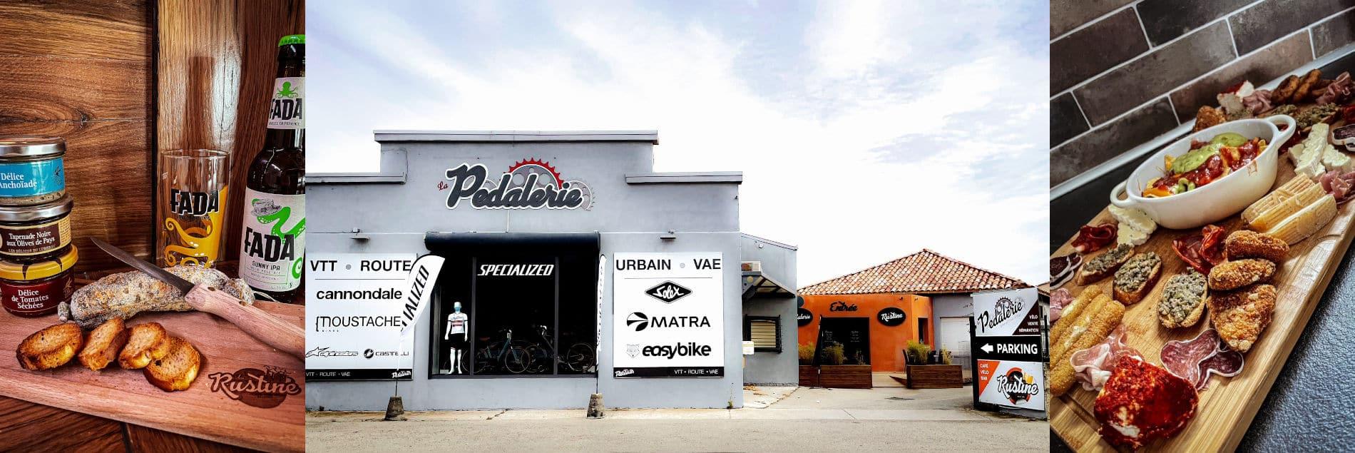 Bar La Rustine : café vélo bar, bières et tapas